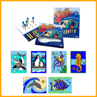 Sand Art Packs - 6 Pictures
